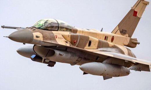 ورود ناگهانی جنگنده مراکشی به اسرائیل