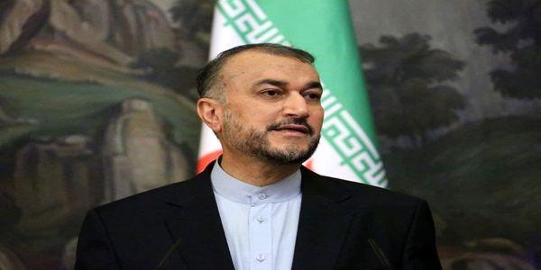 توئیت امیرعبداللهیان به زبان عربی