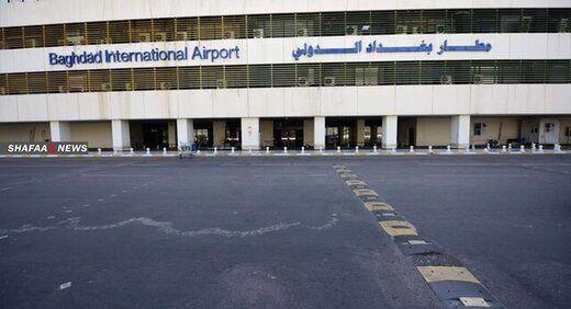 حمله یک پهپاد ناشناس به پایگاه نظامی آمریکا در فرودگاه بغداد/عکس