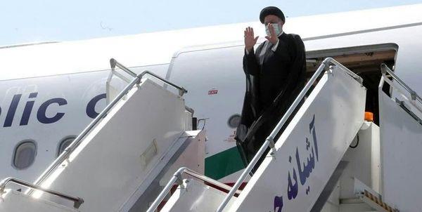 رئیس جمهور وارد شیراز شد