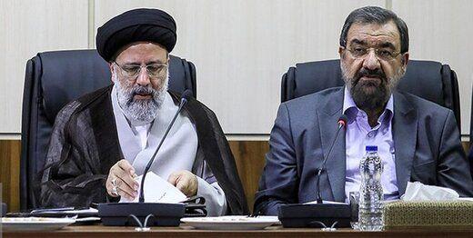 محسن رضایی، دوقطبی را با رئیسی ساخت
