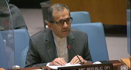 توضیحات تختروانچی از نتیجه جلسه شورای امنیت