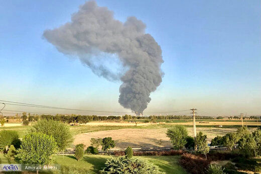 جزییات آتشسوزی بزرگ در پالایشگاه جنوب تهران