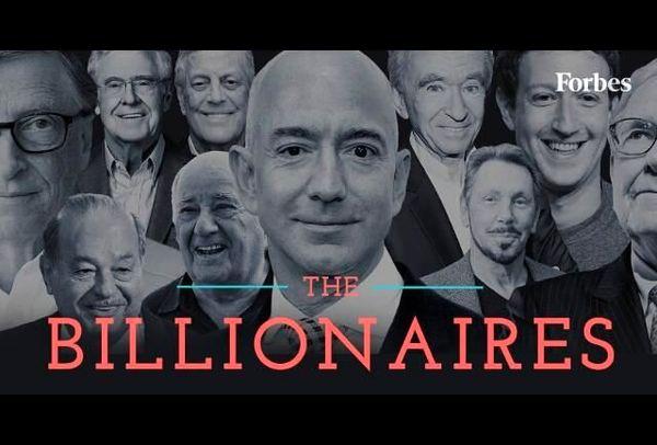 جدیدترین رتبه بندی 10 ثروتمند جهان