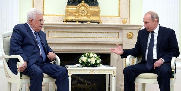 محمود عباس برای پوتین نامه فرستاد