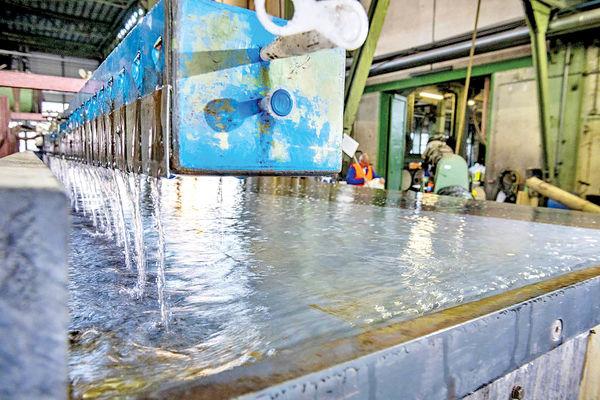کاهش وابستگی ذوبآهن به آب