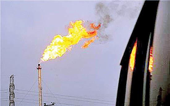 تغییرات محیطی در میادین نفتی
