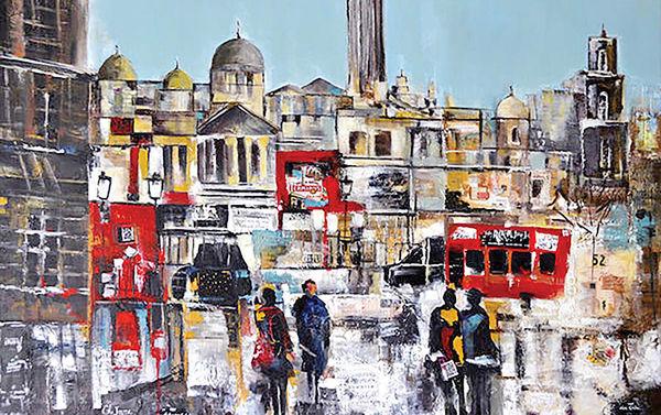 نقاشیهای مدرن «حوض نقاشی» در گالری شلمان