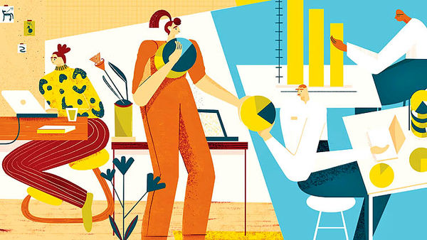 اتکا بر علم برای ترویج سلامت روحی  در محیط کار