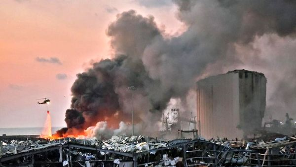 انفجار در مرز سوریه و لبنان