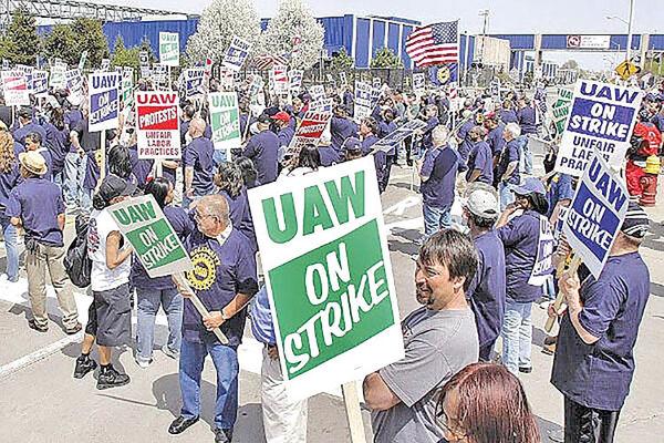 تداوم اعتصابات کارگری در جنرالموتورز