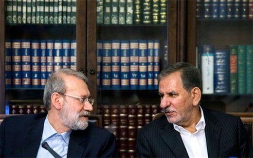 انتخاب میان لاریجانی و جهانگیری