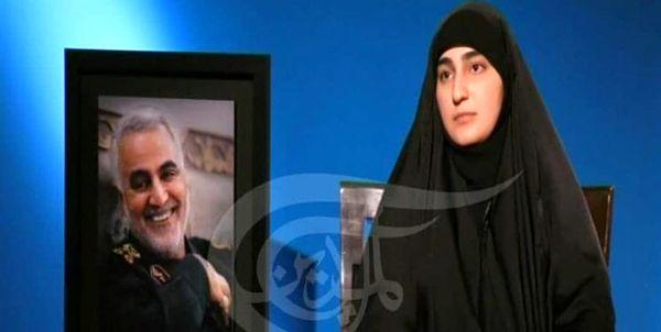 زینب سلیمانی: اگر مذاکره جواب میداد، تا الان فلسطین آزاد شده بود