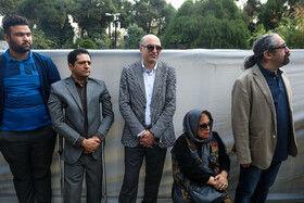 مراسم تشییع پیکر حسین دهلوی