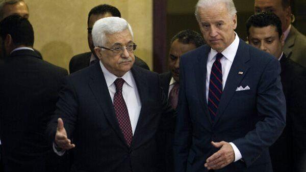 جواب رد بایدن به  ملاقات با محمود عباس