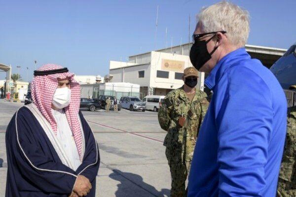 سفر سرپرست پنتاگون به بحرین