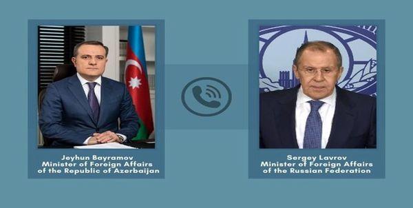 محور گفتگوی تلفنی لاوروف و بایراماف