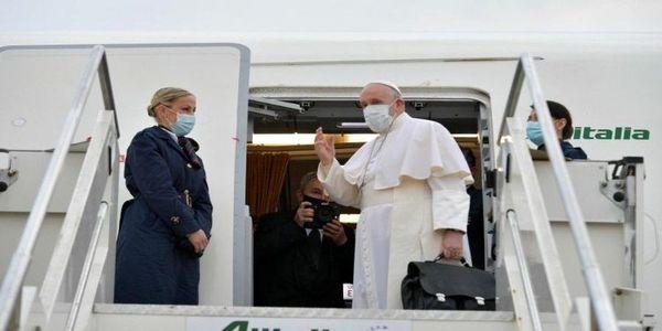پاپ وارد عراق شد