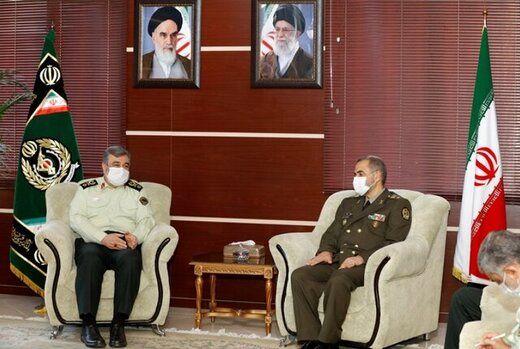 جزییات دیدار امیر آشتیانی با فرمانده نیروی انتظامی