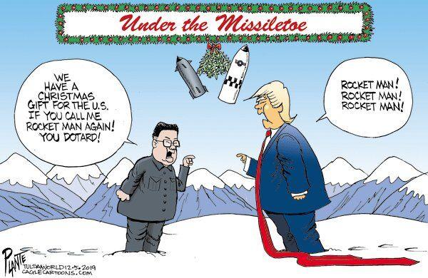 هدیه کریسمس مرد موشکی برای ترامپ چیست؟!