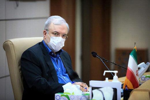 وزیر بهداشت: تلاش کردم در این مدت خون بخورم و خاموش بنشینم