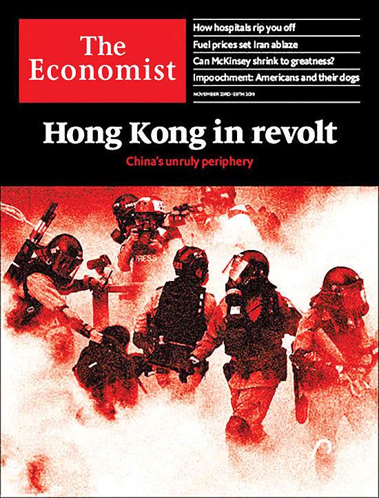 هنگکنگ در مسیر انقلاب