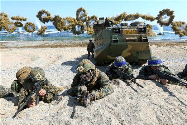 آمریکا و کره جنوبی رزمایش نظامی مشترک برگزار می کنند