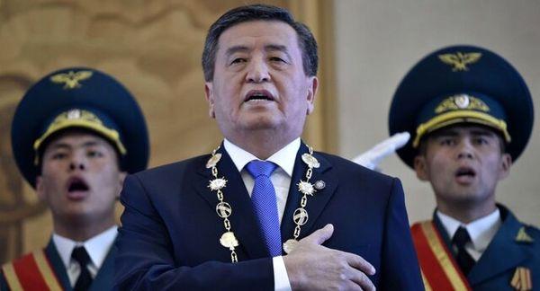 استیضاح رئیس جمهور قرقیزستان کلید خورد