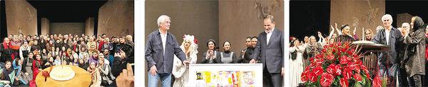 حضور معاون اول رئیسجمهور در جشن تولد آقای کارگردان