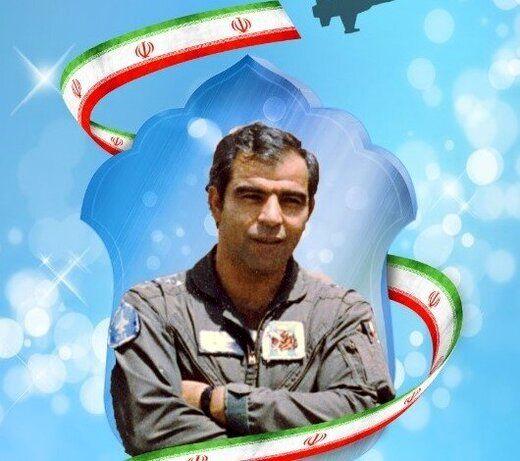 تصویری از تحویل باقیمانده اجزای هواپیمای شهید بیرجند بیکمحمدی به ارتش