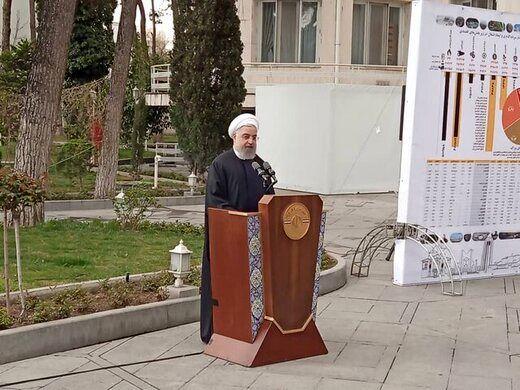 تصویری متفاوت از حسن روحانی و وزرای دولت