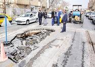 خطر پسابارش در تهران