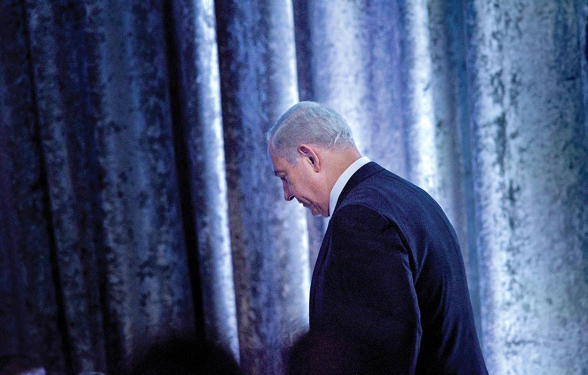 سقوط نتانیاهو