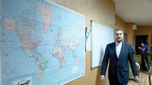 وزیر امور خارجه در راه نیویورک