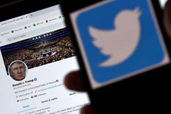 ترامپ توئیتهای تحریکآمیز را حذف کرد