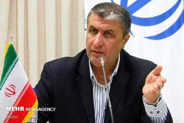 وزیر راه: بلیت به بیمار کرونایی فروخته نمیشود