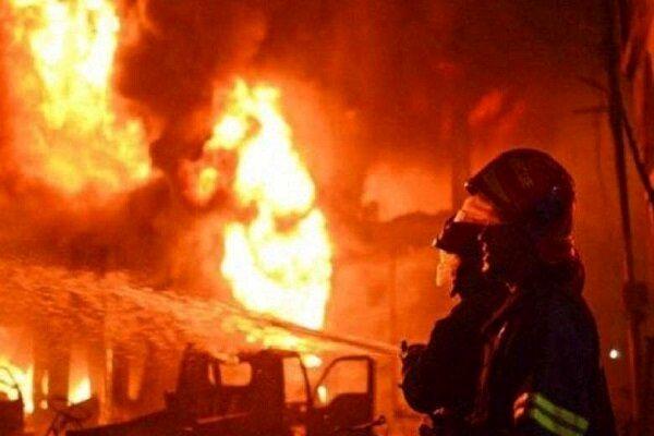 آتش سوزی مرگبار در کارگاه مبل با 5 کشته