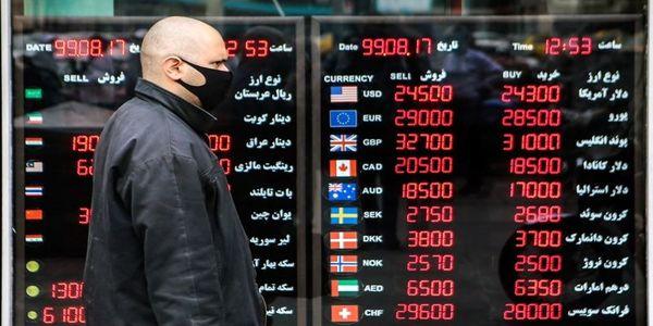 واکنش بازار ارز به اخبار منفی