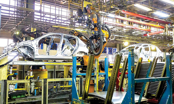 خودروسازی در جاده افت زیان