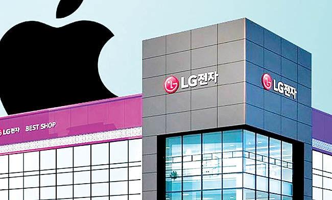 نگرانی سامسونگ از عرضه آیفون در فروشگاههای الجی