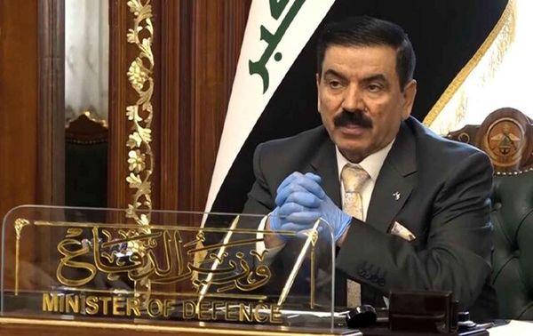 وزیر دفاع عراق: سفرم به ایران یک دیدار عادی و روتین بود