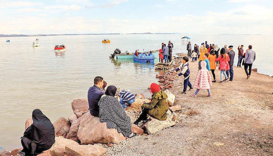 خروج دریاچه ارومیه از کما