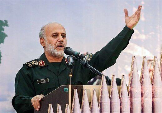فرمانده قرارگاه مرکزی خاتم الانبیاء با خانواده شهید کوسهچی دیدار کرد