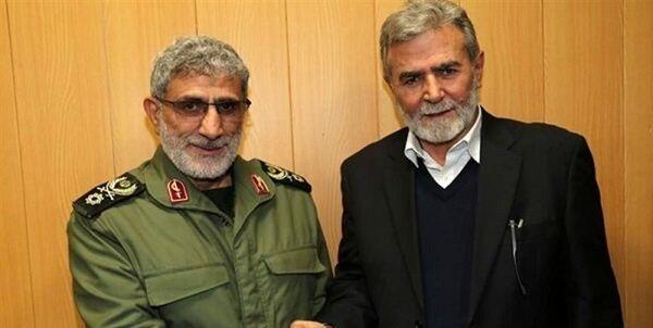 جزئیات گفتوگوی تلفنی سردار قاآنی با دبیر کل جنبش جهاد اسلامی فلسطین