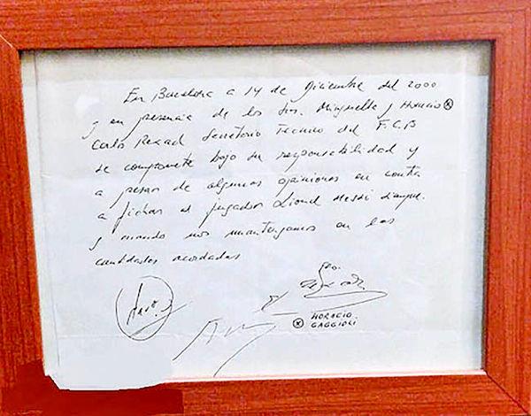 21 سال پیش؛ دستمال تاریخی بارسا