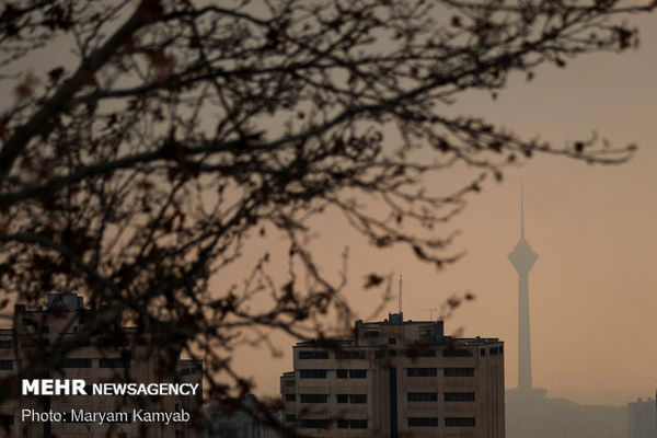 وضعیت آلودگی هوا در پایتخت
