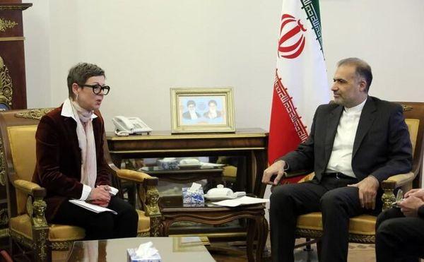 دیدار سفیر ایران با سفیر سوئیس در روسیه