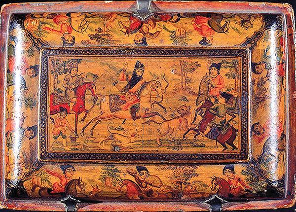 فتحعلیشاه قاجار و شکار