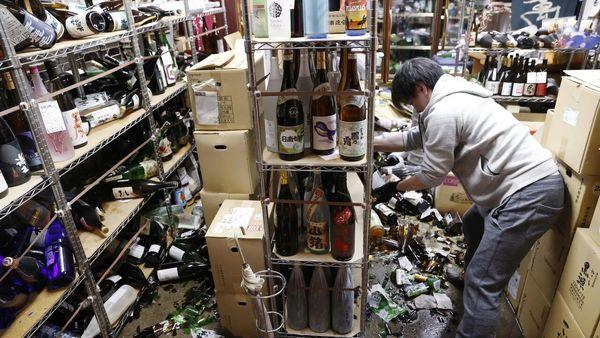 زلزله ۷ ریشتری فوکوشیمای ژاپن را لرزاند