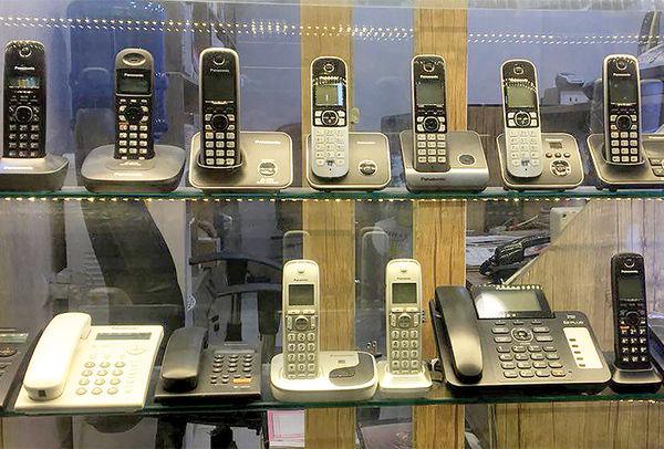 مقایسه قیمت تلفن رومیزی